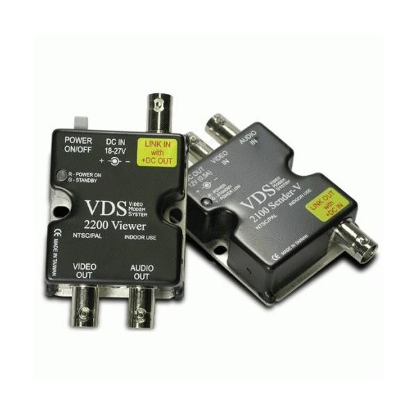 Kit d 'alimentation et video sur câble coaxial VDS-2100
