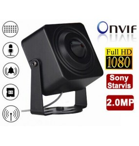 Mini camera HD-IP 2MP 1080p DVR WiFi