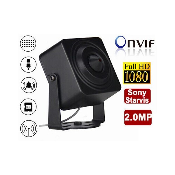 Mini camera HD-IP 2MP 1080p DVR WiFi