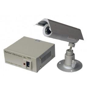 Allwan AL-6020HHPSC - Camera IP68 pour industrie auto alimentée via un câble coaxial