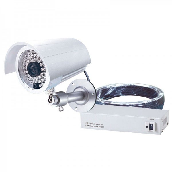 Camzera via cable coaxial Leds IR Vision Infrarouge Max 40m - Allwan AL-6032HHPSC