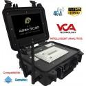 VCA-CASE valise nomade tactique d'analyse video et de transmission 4G