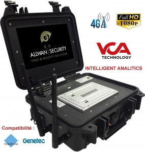 VCA-CASE 4G Tactical Video Analysis and Transmission Tactical Suitcase