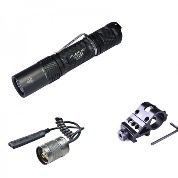 Kit airsoft lampe Tactique Klarus XT2C - 1100 Lumens