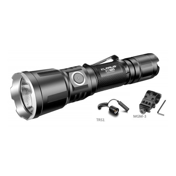 Kit airsoft lampe tactique Klarus XT11X 3200 Lumens