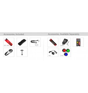 Klarus Torche Lampe tactique Kit airsoft rechargeable Klarus XT11X 3200 L