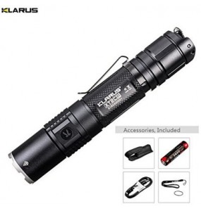 Kit airsoft lampe tactique Klarus XT2CR 1600 Lumens