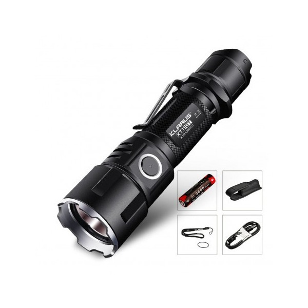 Kit lampe tactique airsoft XT11GT 2000 Lumens Klarus