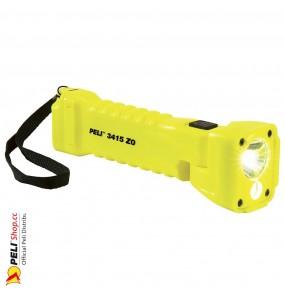 Lampe torche PELI 3415Z0M LED ATEX Zone 0