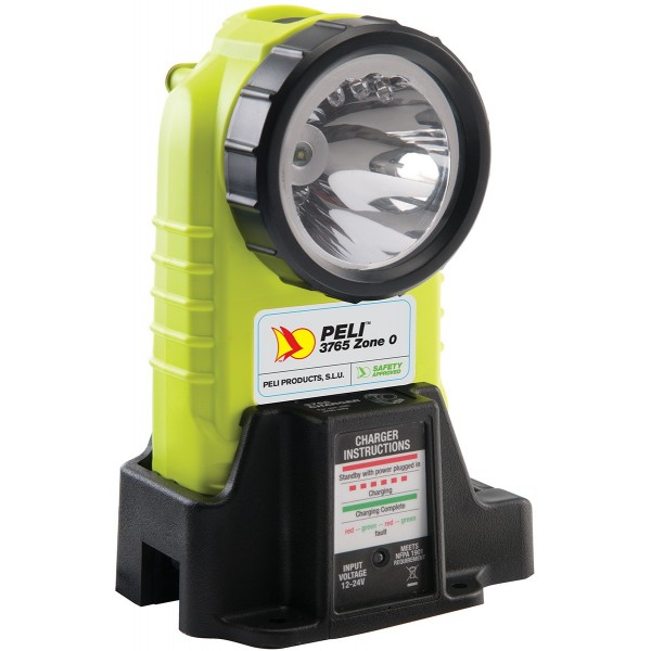 Torche rechargeable Peli 3765Z0 Angle Droit ATEX Zone 0