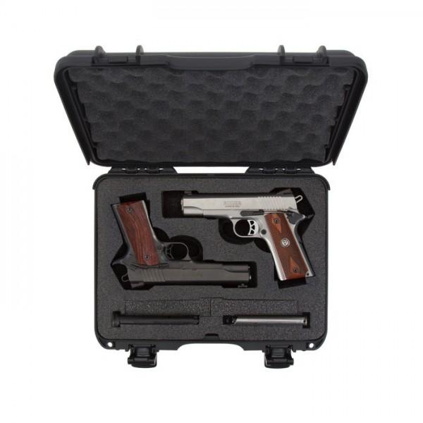 Mallette de transport pistolet classique NANUK 910 2UP