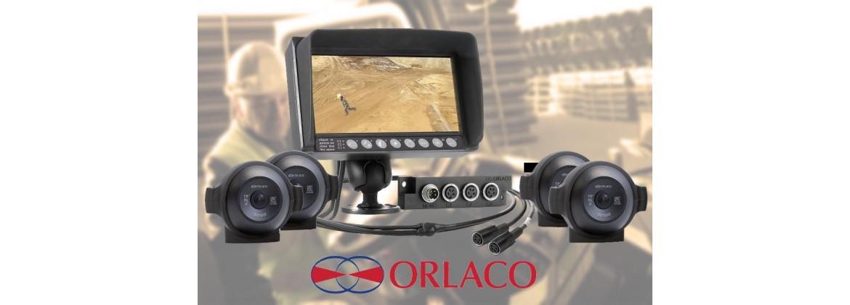 Kits cameras Orlaco poids lourd, BOM