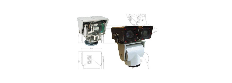 Tourelles motorisées pour caméras et projecteurs, télémètres