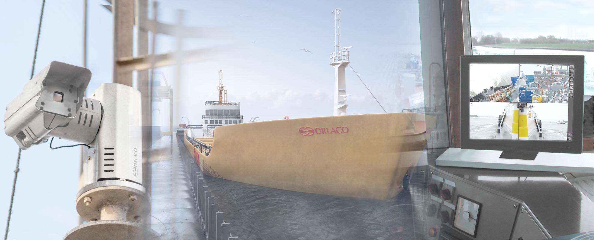 camera marine offshore orlaco surveilance navires video ip thermique gestion plusieurs postes allwan