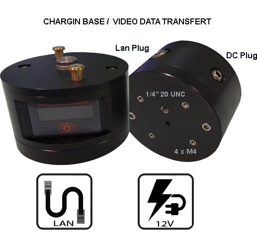 Docstation Charging base for Observer 4G LTE